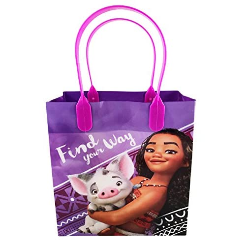 Well Wreapped Disney Moana 12 Pcs Goodie Gabs Party Favor Bags Gift Birthday