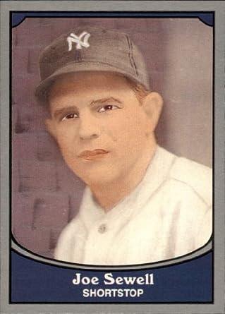 Amazoncom 1990 Pacific Legends Baseball Card 67 Joe Sewell Near