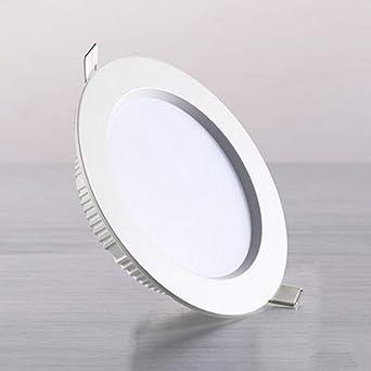 Yaione Luz de techo empotrada IP44 Luz de panel LED para baño ...