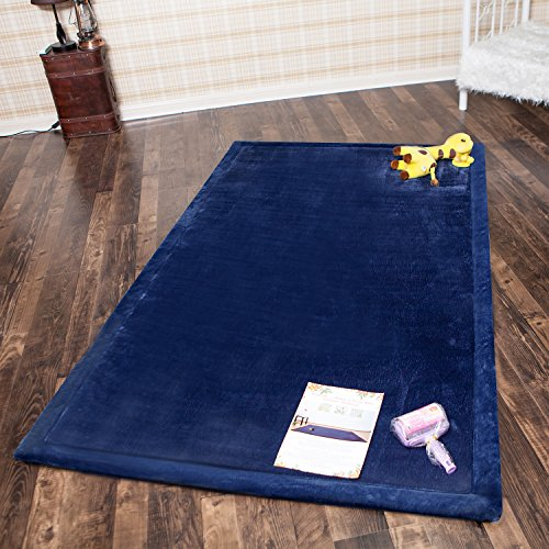 Infant Shining Baby Play Mat, 4'x6'6'' ,Thick Rugs, Soft ...