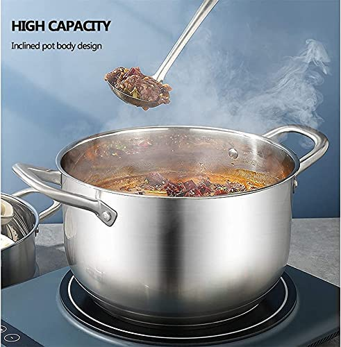"""514U4TSH2%2BS. AC Pans for cooking Stainless Steel Steamer Pot Steamer Food Steamer MultiLayer Pot with Handles on Both Sides Pot with Lid for Kitchen ThreeLayer 22cm    """"Welcome to our mallHappy shopping!Our products have been thoroughly tested, inspected and packaged before delivery.If you have any questions, please feel free to contact us so that we can provide you with the best service.""""NJOLG is committed to providing premium and long-lasting cookware, which inspires your passion for cooking.Are you sick and tired of your old steamer that keeps ruining your hard work? Looking for a solid steamer set that does the jobOur steamer can meet your complete cooking needs! You can use it as a pot or combine these components in different steamers. And make sure our steamer uses high quality stainless steel, providing you with a durable and healthy cooking tool. The ebb design of the steaming grill and the multilayer composite material bottom make the food evenly heated and delicious. It is also worth mentioning that the steamer can be compatible with a variety of stoves.Stainless Steel Steamer Pot, Steamer Food Steamer Multilayer Pot with Handles on Both Sides, Pot with Lid, for KitchenProduct Name: Multipurpose steamerProduct Material: SUS304 Stainless SteelProduct Layers: Single / Double / Three LayersProduct Specification: 22/24/26 / 28cmSurface Technology: Wire Drawing Polishing TreatmentFeatures: nonstick pan, fast heat conduction, less oily smoke, energy saving and high efficiencyScope of application: restaurants, hotels, familiesNote: if you have any questions about the order, please contact us through Amazon. We will get back to you within 24 hours. If you need more styles, you can search our LKDF brand. You will have a satisfactory answer. good day.Chaptersdescriptions off, selectedcaptions off, selectedThis is a modal window.If you are not satisfied with our products, please feel free to contact us, we will contact you within 24 hours. For more related product """