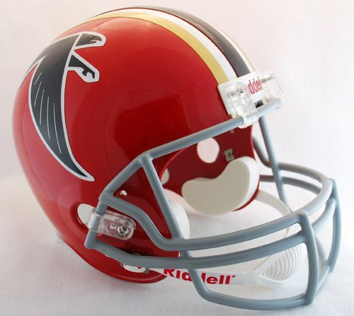 (Riddell NFL Atlanta Falcons Helmet Full Size Replica, One Size, Team Color)