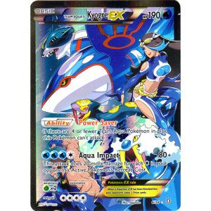 Pokemon Aqua Cards Trading - Pokemon - Team Aqua39;s Kyogre-EX (6/34) - Double Crisis - Holo
