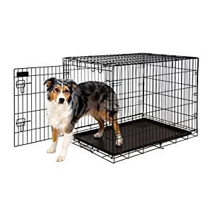 Petmate 34-Inch Training Retreats Wire Kennel for Dogs, 50 to 70-Pound