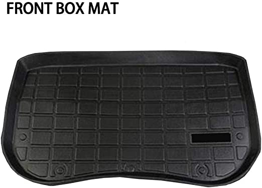 Car Trunk Mat Waterproof Protective Pads Mat Storage Mat Compatible with Tesla Model 3 Car Accessories