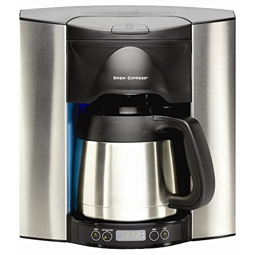 Brew Express Programmable Recessed Coffee Maker, 10 Cup Review
