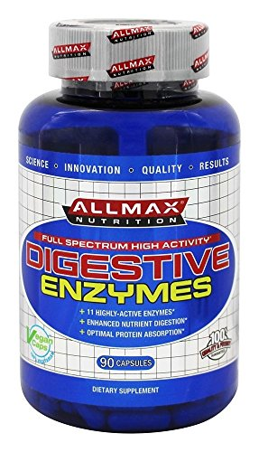 ALLMAX DIGESTIVE High Potency Supplement Capsules