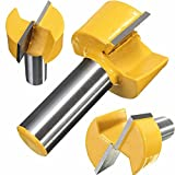 Bottom Cleaning Dado Router Bit Woodworking Stripping Knife Tenon Joint Cutter