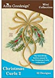 Anita Goodesign ~ Christmas Curls 2 ~ Embroidery Designs