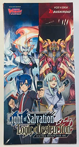 - Cardfight! Vanguard V-EB06 Light of Salvation Logic Destruction Extra Booster Box