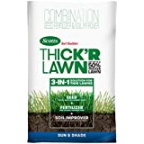 Scotts Turf Builder Thick'R Lawn Sun and Shade, 12 LB