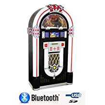 JUKEBOX BLUEONE TECHNO with Bluetooth, CD Player, FM Radio, USB & SD