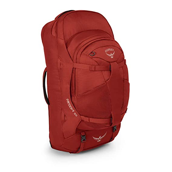 The Osprey Packs Farpoint 55 Travel Backpack travel product recommended by Ollie Smith on Lifney.