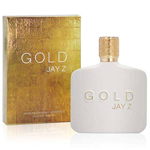 Gold Jay Z Eau De Toilette Spray, 3.0 Ounce (Gold Toilette Spray Eau De)
