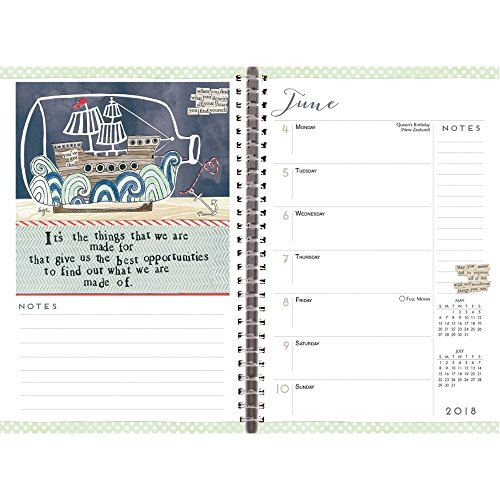 The World According to Curly Girl 2018 Softcover Engagement Planner Calendar Photo #2