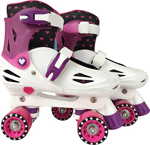 Barbie Adjustable Quad Skate, Multi, 1 To 4