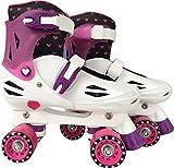 Barbie Adjustable Quad Skate, Multi, 1 to 4
