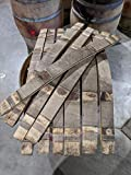 Authentic White Wine Barrel Staves