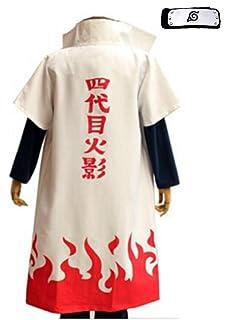 Amazon.com: CG Costume Mens Namikaze Minato Cloak 4th ...