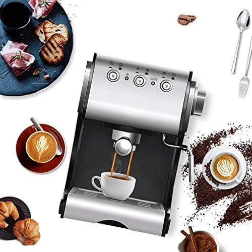 Voptech Drip Koffiezetapparaat Permanente koffiezetapparaat met geavanceerde Cappuccino System & Hot Water Spuiten for koffie of thee thuis en op kantoor Drip Koffiezetapparaat
