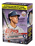 #4: Topps Baseball 2017 Update Series Blaster Box (10 Packs Plus One MVP Award Relic Card)