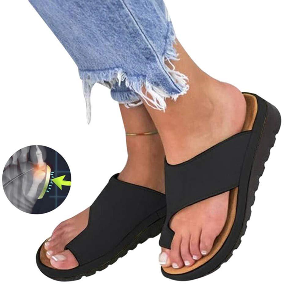 TQMK Frauen Orthopädische Bunion Corrector PU Leder Schuhe