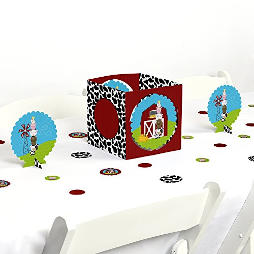 Farm Animals - Baby Shower or Birthday Party Centerpiece & Table Decoration Kit -