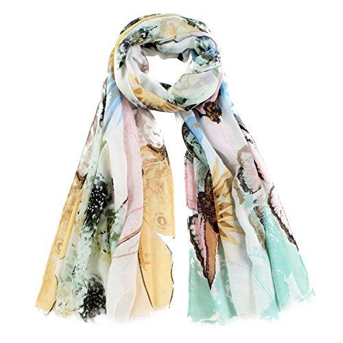 VLUNT - Set de bufanda, gorro y guantes - para mujer 181-yellow