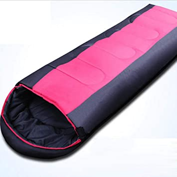 Sabarry Saco de Dormir Saco de Dormir Ligero Viaje Saco de Dormir Camp Saco de Dormir Warmer Saco de Dormir, Color Rosa, tamaño Talla única, ...