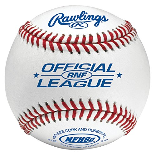 Rawlings Rnf Nfhs Official League Leather Baseballs...