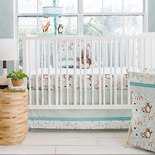 My Baby Sam Forest Friends 3 Piece Crib Bedding Set [並行輸入品]   B07J5K5GXH