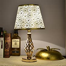 PinWei_ European-LED creative electroplating decorating the living room table lamp,Rose gold