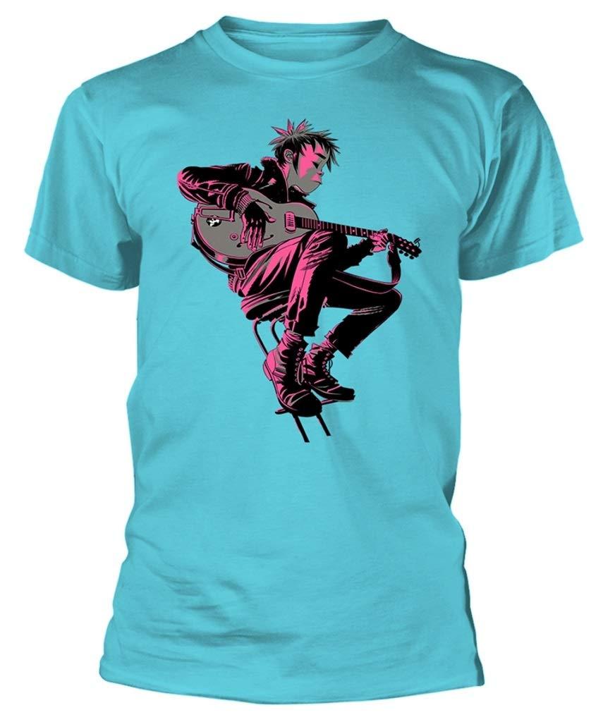 Gorillaz 'The Now Now Album' (Blue) T-Shirt