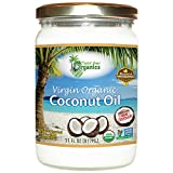 Organic Superior Unrefined Virgin Coconut Oil, Coconut Oil For Skin, Hair Care, Cooking
