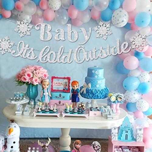 Gender reveal garland,Mitten garland,Baby shower decor,Winter decorations,Holiday decor,Winer birthday garland,Winter onederland decor
