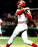 Autographed George Foster 8x10 Cincinnati Reds Photo