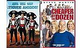 Steve Martin Comedy Collection - Three Amigos & Cheaper By The Dozen 2-Movie Bundle