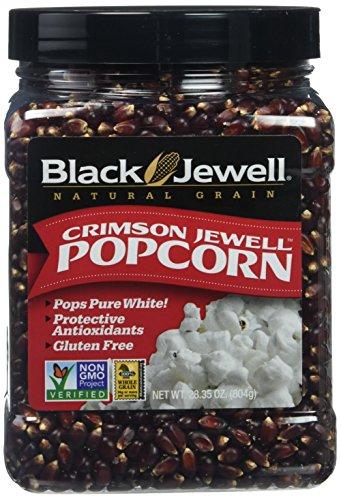 Crimson Jewell Premium Popcorn - Net Wt. 28.35 oz (Popcorn Jewel Black)