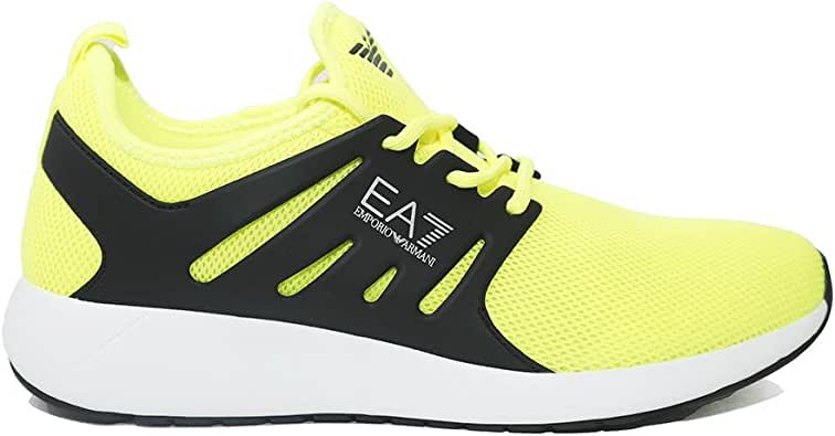 Emporio Armani EA7 Zapatos Zapatillas de Deporte Hombres Nuevo Minimal Running n: Amazon.es: Zapatos y complementos
