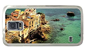 Hipster silicone Samsung Galaxy S5 Cases sa penya ibiza spain PC Transparent for Samsung S5 by supermalls