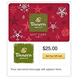 Panera Bread Red Snowflakes Gift Cards - E-mail Delivery