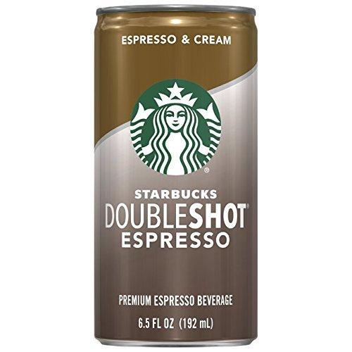 Starbucks ZAZ Doubleshot, Espresso + Cream, 24 Cans