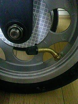 自転車米式バルブに使用出来ます。