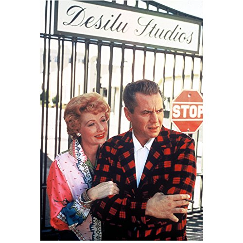 Lucille Ball Candid with Desi Arnaz Outside of Desilu Studios 8 x 10 Photo
