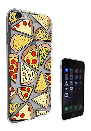 c0096 - Yummy Pizza Slices Design Pour iphone 5 5S Protecteur Coque Gel Rubber Silicone protection Case Coque