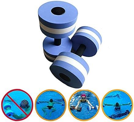 Ejercicio acuático mancuernas, 2 pesas de espuma de agua Aqua ...