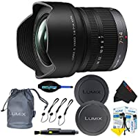 Panasonic Lumix G Vario 7-14mm f/4.0 ASPH. Lens + Pixi-Basic Accessory Bundle