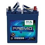 Tata Green Batteries 1419511247 Premio PR4000R 12V 35Ah Car Battery (Under Exchange-Old Battery)