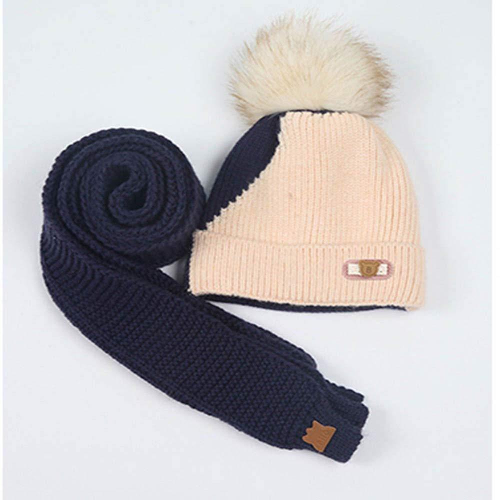 ebe90c9c12c EnjoCho Clearance Sale!8M-3YBaby Children Boys Warm Winter Hairball Knitted Beanie  Hat Cap