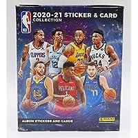 $89 » 2020-21 Panini NBA Basketball Sticker Collection Refill Box - 50 Packs Per Box - 250 Total Stickers